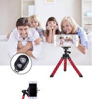 selbststichhalter großhandel-Stativ für Handy Stativ Einbeinstativ Selfie Remote Stick für Smartphone iPhone Stativ für Handyhalter Bluetooth Stative