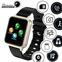 en yeni akıllı saat toptan satış-Bluetooth Akıllı İzle L3 Destek SIM TF Kart Kamera Spor Izci Kalp hızı PK GT08 GT09 DZ09 A1 V8 Z60 Smartwatch IOS Android için