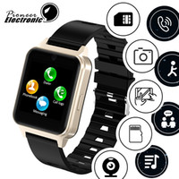 Wholesale newest bluetooth smart watch resale online - For apple iphone Newest android Bluetooth Smart Watch smartwatch Support SIM TF Card with Camera PK GT08 DZ09 A1