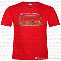 boyun modası toptan satış-Standı Geri Erkek Kırmızı Kısa Kollu Moda Yuvarlak Yaka T Shirt Boyut XL S L 2XL 3XL Tops