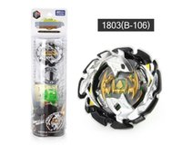 Wholesale beyblade birthday resale online - 4D spinning top Beyblade Burst B B B Metal Fusion Toupie Bayblade With Launcher Gift Toy for Kids Birthday