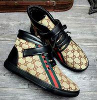 marken casual schuhe für männer großhandel-Herrenstiefel, mercerisierte Segeltuchschuhe, Herren Freizeitschuhe, flache Schuhe, Schuhe mit weichen Sohlen, Anti-Geruch G10.6