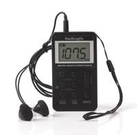 tarifas de radio al por mayor-Am fm mini pantalla digital portátil radio litio recargable pequeña interfaz USB Dimensiones 84 * 48 * 12 (mm) Peso 0.11 KG