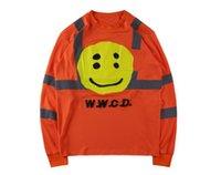 lächelnd frühling großhandel-CPFM W.W.C.D. Mens langärmelige Oberteile Lächeln gedruckt so schnell wie möglich Frühlingsherbstt-shirts