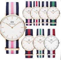 beste uhren marke für frauen großhandel-Daniel Wellington-Uhren der neuen Bestseller-Mensfrauen 40mm Männer passen 36 Frauen-Uhren D-Luxusmarke-Quarzuhr DW Relogio Montre Femme auf