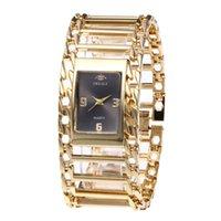 schwarze metalluhren für frauen großhandel-Luxusart-Metallarmbanduhr-Uhr-Stahlgürtel-Uhr-Art- und Weisefrauen-Uhr mit drei eleganten Farben