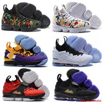 Wholesale lebron 15 resale online - cheap Ashes Ghost lebron Basketball Shoes Lebrons shoes Sneakers s Mens James sports new Shoes