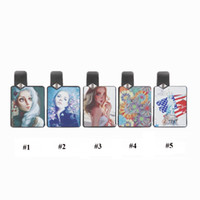 liquid for e cigarette achat en gros de-CigGo J Box Starter Kits E Cigarette Carte-forme vaporisateur 350mAh Vape Mod Pour Huile E-liquide 2 Pods Fit J Stylo Bauway 703M-1 Authentique