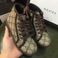 şık deri toptan satış-Chic Çocuk Ayakkabı Boys için Ayakkabı Tasarımcısı Çocuklar için Unisex chaussures enfants Yüksek Kalite Çocuklar Sneakers Hakiki Deri toddler ayakkabı