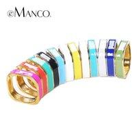 ingrosso bracciali femminili-bracciale alla caviglia multicolore in lega di zinco bracciali da donna polsini marchio eManco nuove promozioni moda di alta qualità pulseiras femininas BL05706