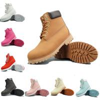 botas de tornozelo preta à prova d'água quente venda por atacado-Mens botas de grife TBL moda inverno clássico botas de neve das mulheres quente Melhor Qualidade amarelo preto camo tornozelo À Prova D 'Água sapatos de esportes ao ar livre