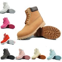 Wholesale womens fashion warm winter boots resale online - mens designer boots TBL fashion classic winter snow boots womens warm Best Quality yellow black camo ankle Waterproof outdoor sports shoes