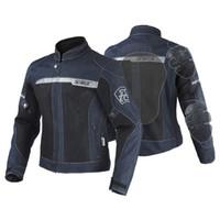 Wholesale plus moto jacket for sale - Group buy SSPEC Mens Moto Gear Suit Protection Riding Jackets Denim Motorcycle Jacket Reflective Protector Pads S XXXL