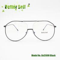 8f208b60051 Better Self Stock BSL2098 Korea Large Style Eyewear Full Rim Eyeglasses  Frame Women Double Bridge Vintage Glasses Myopia Optical