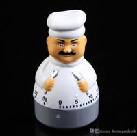 cronômetro de 24 horas venda por atacado-Chef despertador Contagem regressiva de cozinha Cronômetro Cozinhar Contagem regressiva Clipe alarme cozinha usando os melhores temporizadores de cozinha 100 pcs