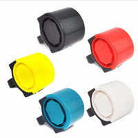 черный синий дорожный велосипед оптовых-JETTING Ultra-loud MTB Road Bicycle Bike Electronic Bell Horn Cycling Hooter Siren Accessory Blue/Black/Red/White/Yellow