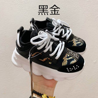 Wholesale autumn new arrival sneaker kids for sale - Group buy 2020 Fashion Big Kids Girls New Arrival Shoes Vérsace Baby Boy Chaussures Sneakers Trainers baskets Children Shoes