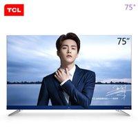 panel led 32 al por mayor-TCL 75 pulgadas 32-core 4K ultra hd inteligente harman / kardon LED LCD ultrafino pantalla plana TV ¡el nuevo producto caliente libera el envío!