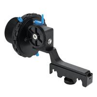 следить за фокусировкой оптовых-YELANGU F4 Универсальная Damping Дизайн Точная фокусировка следящей фокусировки с кольцевой зубчатый ремень для цифровых зеркальных камер
