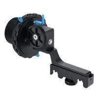 fokus zahnriemen großhandel-YELANGU F4 Universal Damping Design Genaue Fokussierung Follow Focus mit Zahnkranzriemen für DSLR