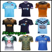 410da6a31f6c0 2018 2019 20 Camisetas de rugby de Escocia NRL Rugby Blues Camiseta de  rugby de estado Bulls JAGUARES Italia Sudáfrica Camiseta de los dragones de  St George ...