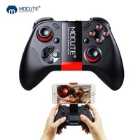 Wholesale tablet games for android for sale - Group buy Mocute Gamepad Pubg Mobile Pubg Controller Android Joystick Wireless VR Joypad Smartphone Tablet PC Phone Smart TV Game Pad MX191220