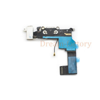 Wholesale iphone 5c charge usb cable online – 30pcs USB Dock Connector Charging Port Flex Cable For iPhone S C SE USB Charger Plug Flex Cable Repair Parts Free DHL