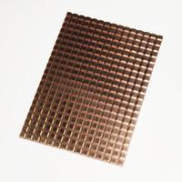 yarıiletken sürücüler toptan satış-100 * 70mm Bilgisayar Laptop Için 50 * 50mm mekanik solid-state sabit disk Sürücü yönlendirici SATA bakır radyatör Isı lavabolar