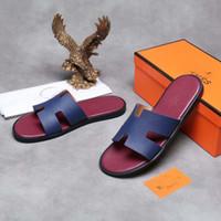 обувь для дома оптовых-2019 новая мода дизайнер обуви слайды лето пляж крытый плоские сандалии G тапочки дом шлепанцы с шип сандалии с коробкой
