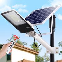 солнечный уличный фонарь оптовых-Edison2011 высокое качество Солнечный уличный свет прожектор прожектор 20 Вт 40 Вт 70 Вт 100 Вт 200 Вт открытый водонепроницаемый солнечный поток света пятно лампы