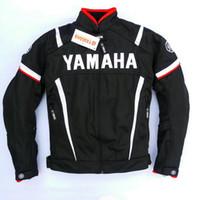 equipo de moto al por mayor-Motocross Chaquetas Moto GP compite con la chaqueta con el envío Ropa para Yamaha M1 del equipo de la motocicleta libre 602 WY