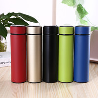 Wholesale insulation for cars for sale - Group buy New Stainless Steel Water Bottles Tumbler Insulated Vacumn Water Cup Mug For Slim Straight Office Car ML Gifts HH9