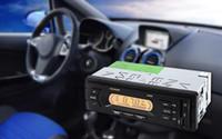 pantalla de visualización de 12v al por mayor-USB SD MP3 Reproductor multimedia Pantalla LCD Pantalla de alta definición Audio FM Escaneo automático AV65D 12V Car Audio Radio estéreo Envío gratis