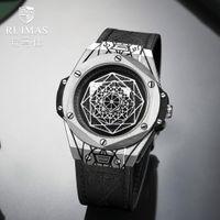часы наручные оптовых- Classic Hollow Business Watches for Men Sport Quartz  Chronograph Watch Gift Relogio Masculino Hombre Reloj