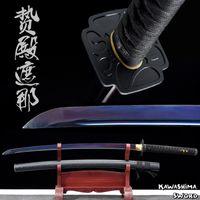 Wholesale handmade katana swords resale online - Plating Blade Series Real Steel Handmade Japanese Samurai Sword Full Tang Sharpness Ready For Cutting Shana Katana