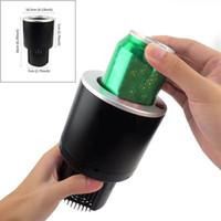 ingrosso elettricità scaldante della bottiglia-2 in 1 12V Car Cup Cooler Warmer Universal Car Veicolo Drink Bottle Holder Cup Holder Smart Auto