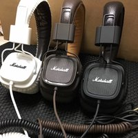 Wholesale headset microphone for pc usb for sale - Group buy Marshall Fashion Over Ear Headphones Stereo Foldable Headphones Wired Mode Headsets Built in Microphone for Phone PC Laptop