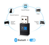 Wholesale ethernet transmitter resale online - Tablet WiFi Bluetooth Adapter mb s USB Wireless receiver G Bluetooth V4 network card transmitter IEEE b g n