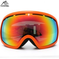 Wholesale SAENSHING professional Ski Goggles Men Unisex snowboard Goggles Double lens Motocross Snow Glasses Winter Anti fog ski Eyewear