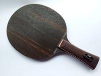 asas de la cuchilla de tenis de mesa al por mayor-Stiga mayor-Mesa de ping pong cuchillas Ebenholz 7 FL / mango largo / raqueta / murciélagos de tenis de mesa / paleta de ping pong raqueta