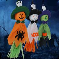 abóboras decorativas venda por atacado-Venda quente do Dia Das Bruxas casa assombrada adereços decorativos Festival Fantasma Abóbora specter Decoração do partido de Halloween espectro pingente T9I00102