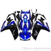 kit de yamaha negro al por mayor-3 regalos Planes para personalizar Para Yamaha YZF R25 R3 YZFR3 2015 inyección ABS Plástico Motocicleta Carenado Kit Carrocería YZFR25 15 Azul Negro YI4