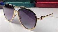 qualidade de óculos de sol de bambu venda por atacado-Designer de luxo óculos de sol 6003 pilotos clássicos quadro simples perna de bambu top quality lente anti-UV 4 cores para escolher com caixa original
