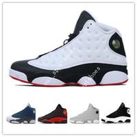b371a1f79e3a72 13 13s Mens Basketball Shoes Phantom Chicago GS Hyper Royal Black Cat Bred  Brown Wheat CP3 PE Home men sports sneakers women designer