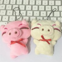 Wholesale keychain day wedding for sale - Pig PlushToys Cartoon Keychain Pendant Boys And Girls Wedding Gifts Multi Color Cute sr F1
