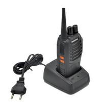 talkie von 888s großhandel-Baofeng BF-888S Walkie Talkie 5W Handfunkgerät bf 888s UHF 400-470MHz Frequenz Tragbarer CB-Funkfernmelder