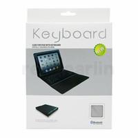 elma ipad mini için klavye toptan satış-Ipad Pro 1 2 3 4 5 havada mini 2 retina Standı Tutucu Koruyucu Koruyucu için Bluetooth Kablosuz Klavye deri çanta Çizgili