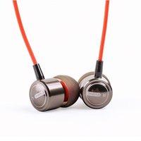 ingrosso 3,5 mic-Auricolare In-Ear Cuffie Bass Auricolari Cuffie con microfono a distanza per smartphone in vendita al dettaglio PACCHETTO 3.5 MM spedizione gratuita per MP3 MP4G