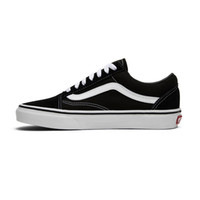 ingrosso scarpe da uomo nero-moda vans canvas sneakers old skool classico bianco nero uomo donna scarpe skateboard scarpe casual da uomo outdoor walking size 36-44