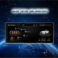 radio navegación para audi al por mayor-Navegación por radio Karaoke Android 7.1 10.25 '' para el reproductor multimedia Audi A6L 2010-2011 con bluetooth